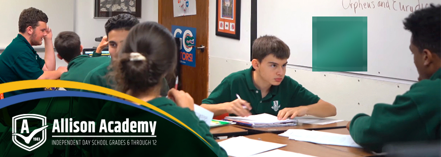 Students and College advising - Allison Academy private middle and high school