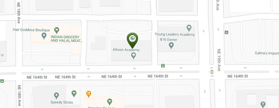 Allison Academy location map